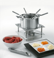 Cristel Cristel COMPLEMENTS Fondue Set with Sauce Pan Mutine Removable 16cm-20