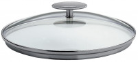 Cristel Cristel Set of 3 Rounded Glass Lids 16cm-20cm-20