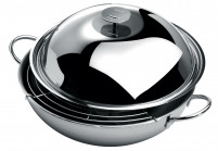 Cristel Cristel COMPLEMENTS Wok three layer conception 38cm-20